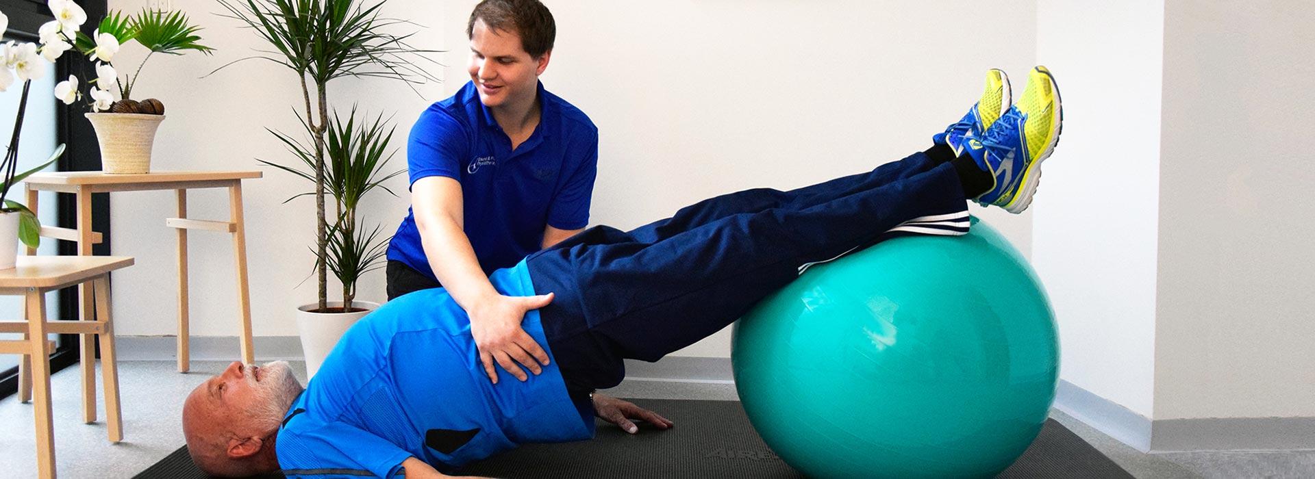 Ablauf der Physiotherapie