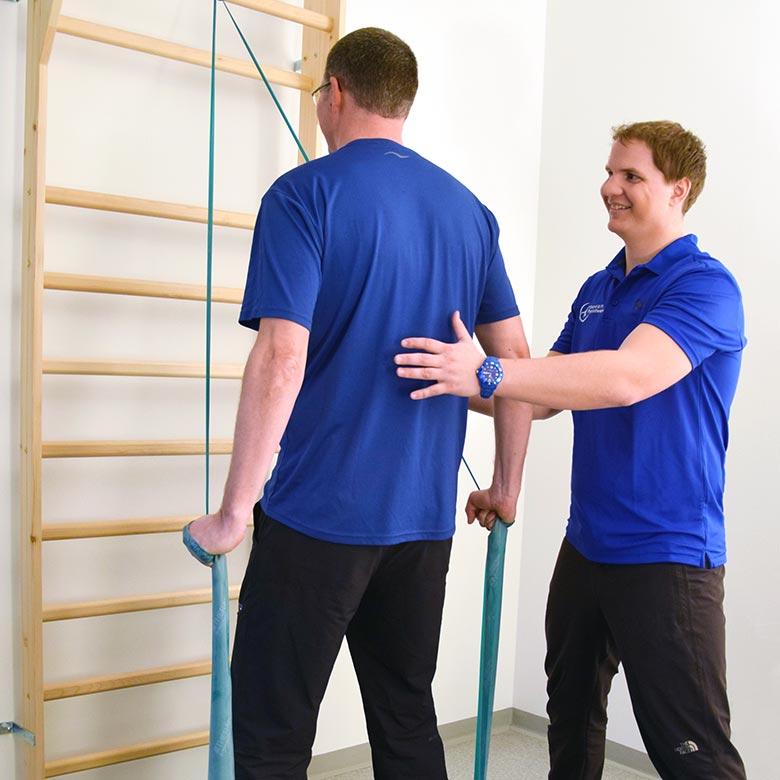 Trainingsablauf Physiotherapie