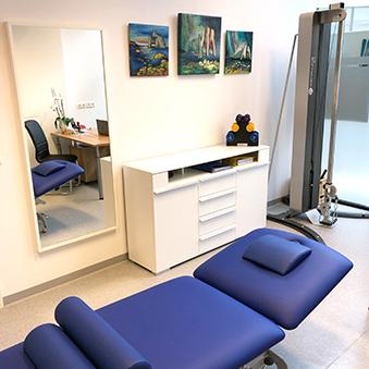 Foto der Praxis - Behandlungsraum