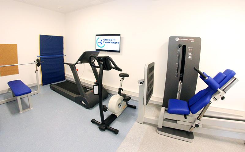 Trainingsraum Physiotherapie