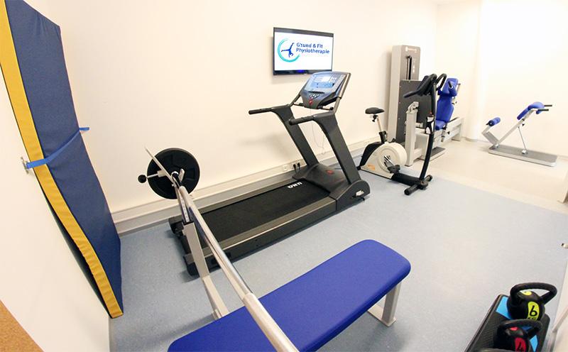 Trainingsraum Physiotherapie 2
